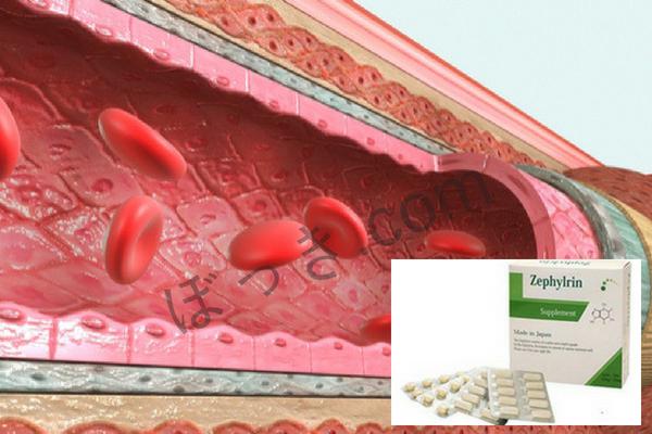 ゼファルリン血管拡張