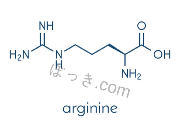 アルギニンL体D体